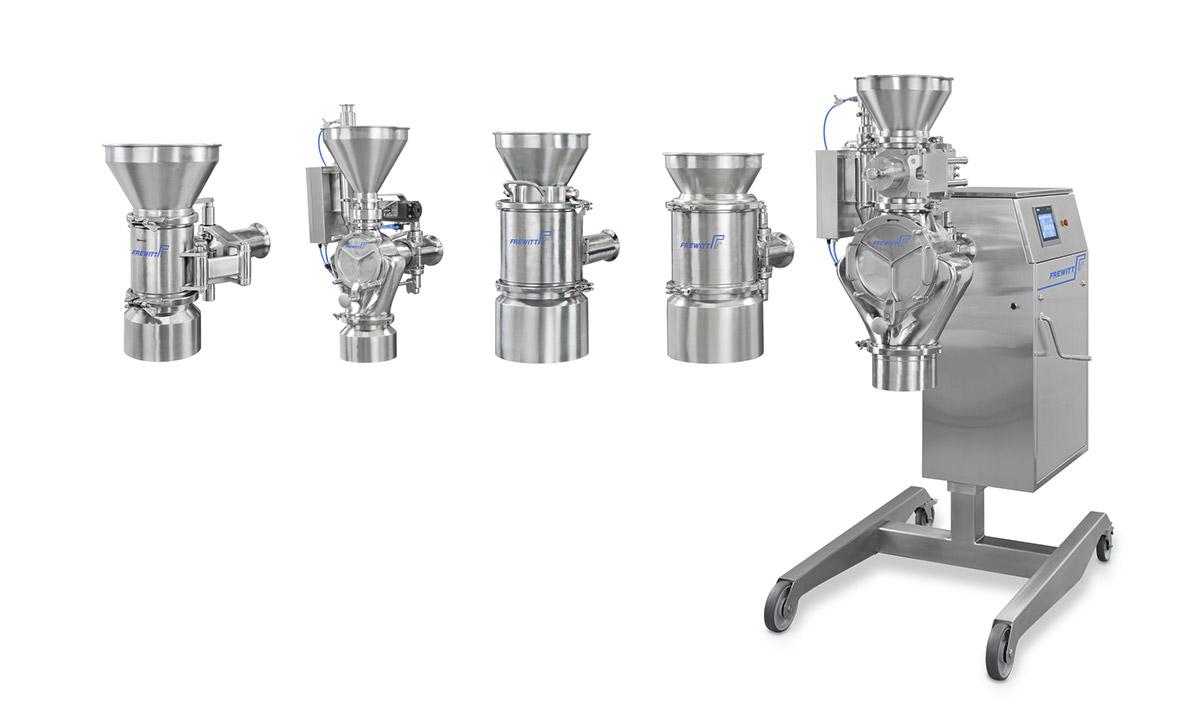 Litech - distributeur Belge Frewitt conditionnement produits solides
